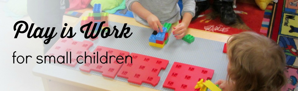 At the Library, play is work