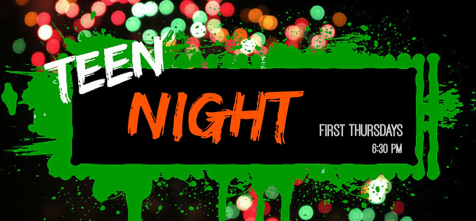 teen night graphic