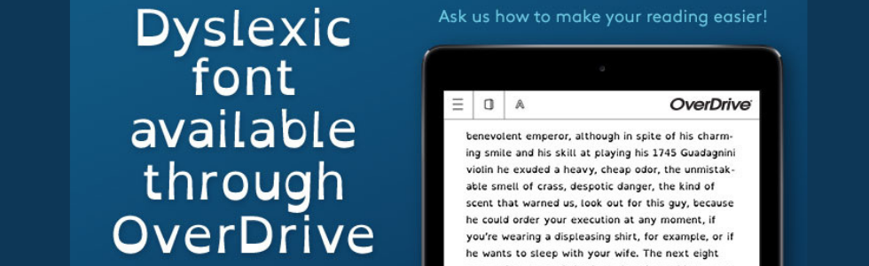 How to Change your Font in Overdrive